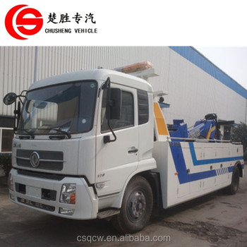 Dongfeng 4x2 8T tow truck road recovery truck wrecker truck