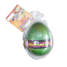 colorful growing up plastic toy cheap dinosaur egg