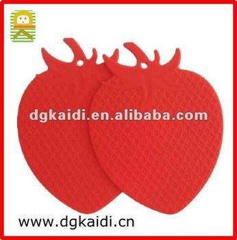 New design silicone cup mat