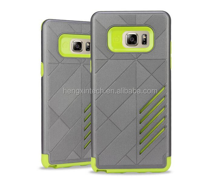 For Samsung Galaxy Note7 Armor impact Heavy Duty Double protective Shockproof Silicone Rubber Hybrid Case Back Cover