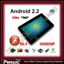 On sale 7 inch android 2.2 touch screen fly touch 7 tablet pc