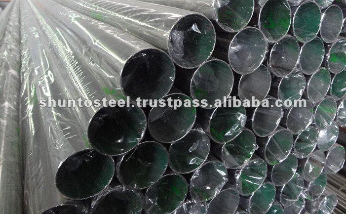 Grade 304 Stainless Steel Round Tube