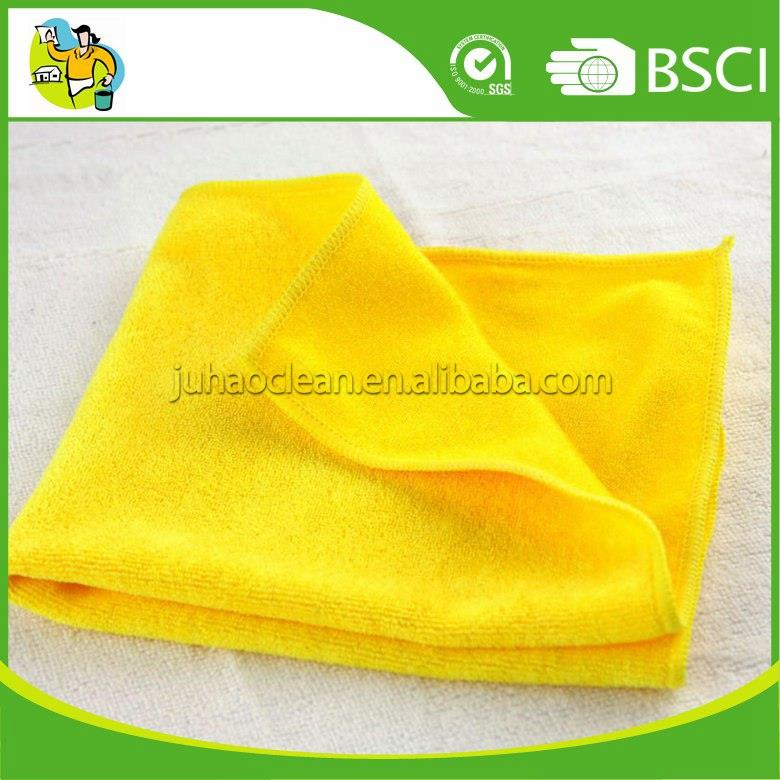 Quick Dry 100% Polyester Microfiber Household Cloth Microfiber Rag 40x40cm