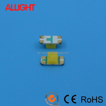 bi-color two color SMD LED 1206 red yellow