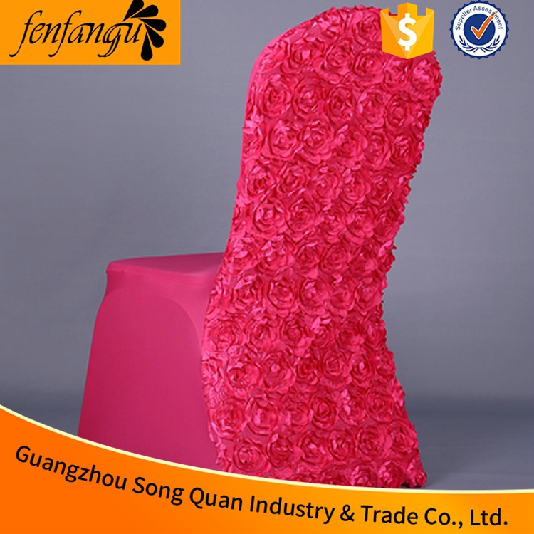 Clear plastic chair cover cushion cover for office chair of wedding
