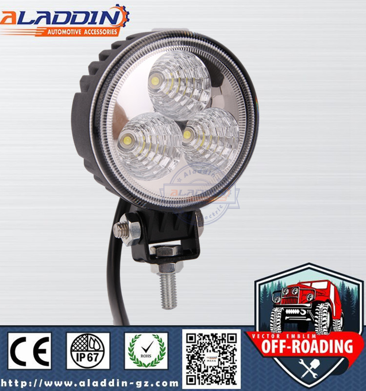2015 9w Led Work Light 1 year warranty rechargeable point led work light