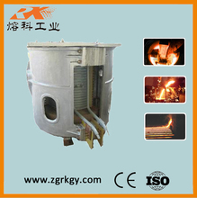 Industrial electric induction furnace for melting metal