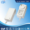 18V AC Adapter/Power Supply with UL/CUL/GS/CE Approval