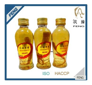 Alcoholic Beverage American ginseng juice wine