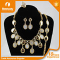 Best Selling 2016 18K Gold Plated Jewelry Set African Beads Fashion Jewelry EF0063