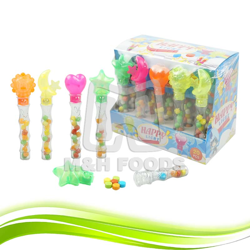 Mix Fruity Flavour Electric Candy Toy Press Candy