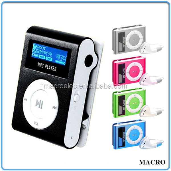 Support SD Card Mini Clip Radio MP3 FM