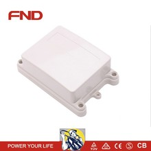 NEW ABS plastic watertight dustproof electronic enclosure with ears for wall mounting