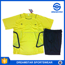 Fast Delivery New Design Sublimation Referee Suits 2017