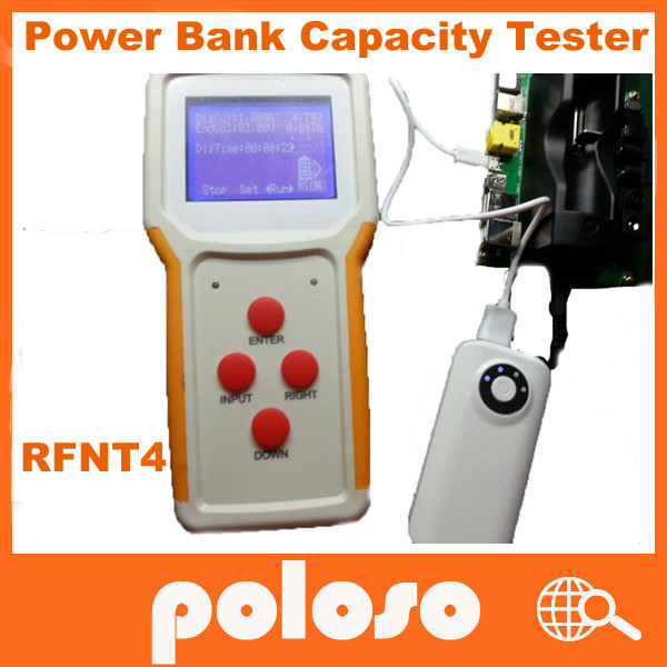 poloso RFNT4 power bank tester equipment battery discharge tester/battery load bank/telecom backup power testing system