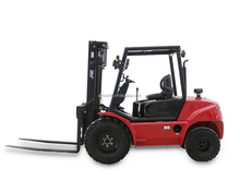 ROYAL 2WD 2.5 ton rough terrain forklift with YM 4TNE98 engine 2500kg fork lift
