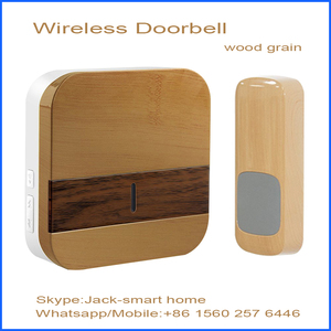 wireless smart hotel doorbell for hotel use