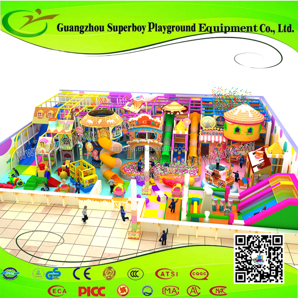 Family party rented electric kids indoor playground equipment
