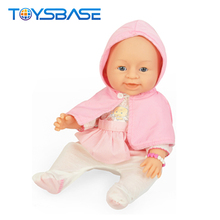 New Design 16 Inch Crying Peeing Silicone Vinyl Reborn Baby Doll