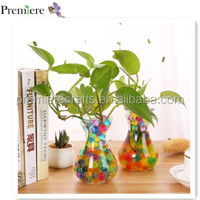 Colorful Water Plant Flower Jelly Crystal Soil Mud Hydro Beads toy guns bullets