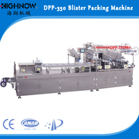 DPP-350 Min Type Honey, Cheese Automatic Blister Packing Machine