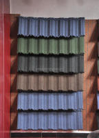 Low price pioneer roof tile/plastic roof tile machine/stone coated metal roof tile