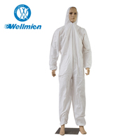 Anti-Bacterial Non woven Disposable PP Coverall