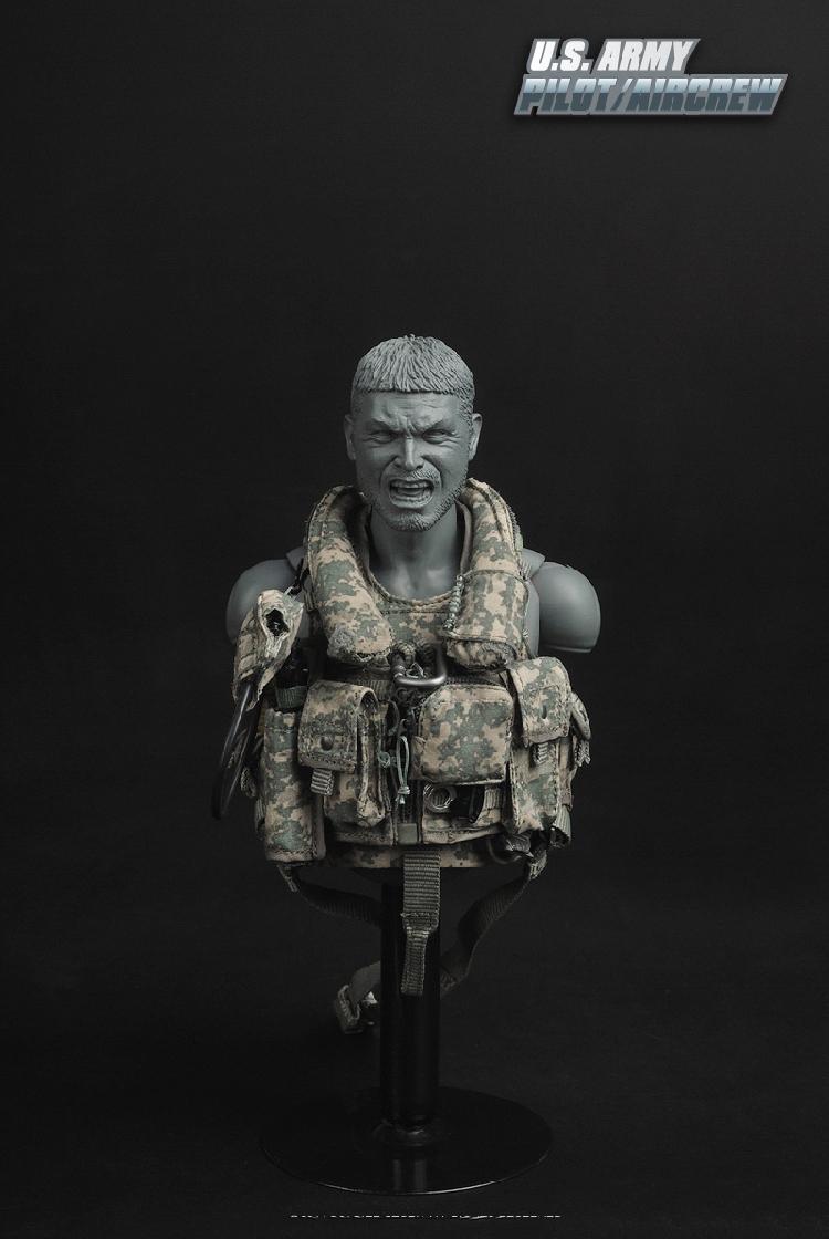 1:6th Male Head Sculpt CalTek firearms master of arts Chris Costa F12/'/' Figure