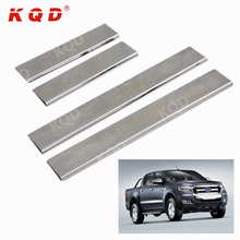 Perfect fit ! New products stainless steel door sill plate for ford Ranger 2012 2015