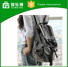 Korea Japan designer school canvas backpack bag leisure fashion travel bag