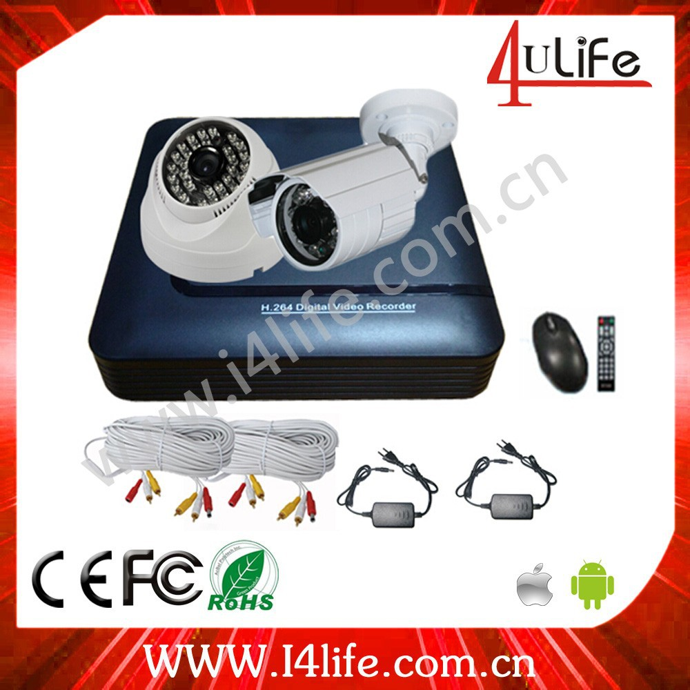 TOP10 Surveillance Standalone AHD CCTV H.264 mini camera hd video recorder DVR Kit