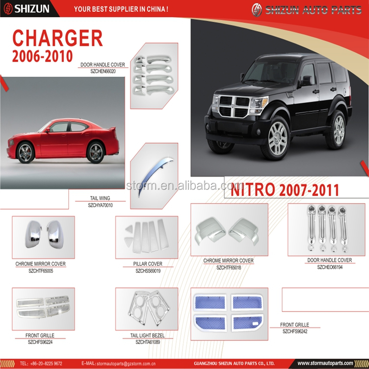 Car Tuning Auto Parts For Dodge Charger 2006-2010/ Nitro 2007-2011