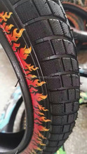 color print bicycle tire 26x2x1 3/4
