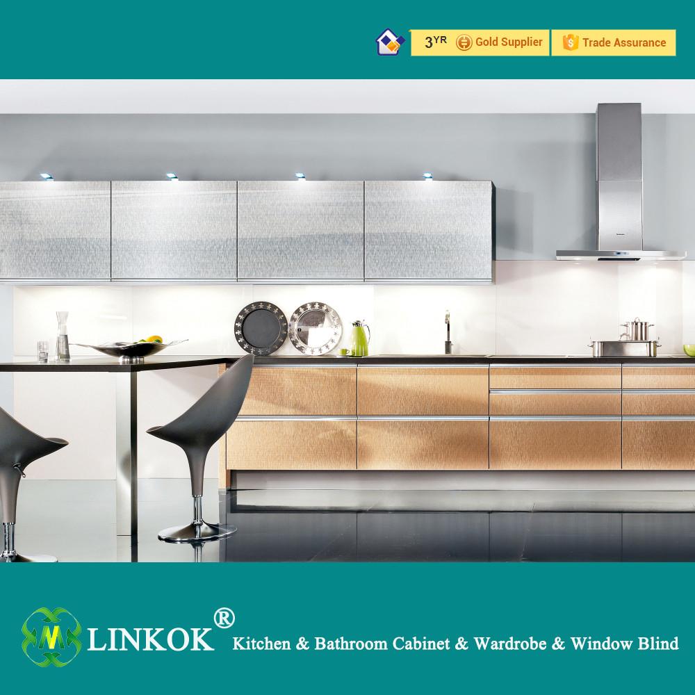 Modern High Gloss MDF Acrylic Kitchen Floating Door Base Cabinets