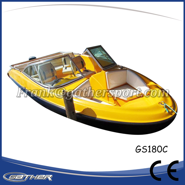 Gather Hot selling good reputation high quality China Fiberglass Boat