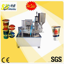 Fruit juice whipping cream redeye keurig cup filling machine
