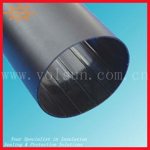 Medium wall 80mm large diameter shrink tubing/heat shrink tube