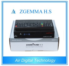FTA software upgrade digital satellite tv receiver ZGEMMA H.S DVB-S2 Linux HD Satellite Receiver