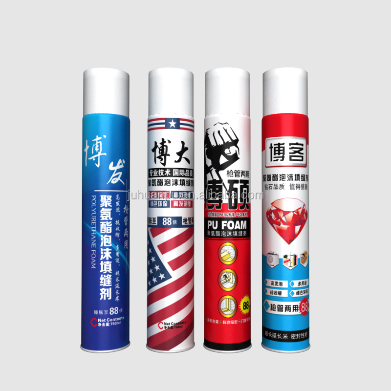 juhuan expanding fire retardant polyster adhesive/Polyurethane foam chemicals/spray pu foam