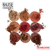 Best naked makeup color cosmetics 2017 private label matte eye shadow cardboard eyeshadow palette