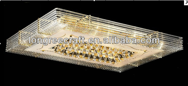 Wholesale Factory Price Fancy Gold Decorative Crystal Fittings Light