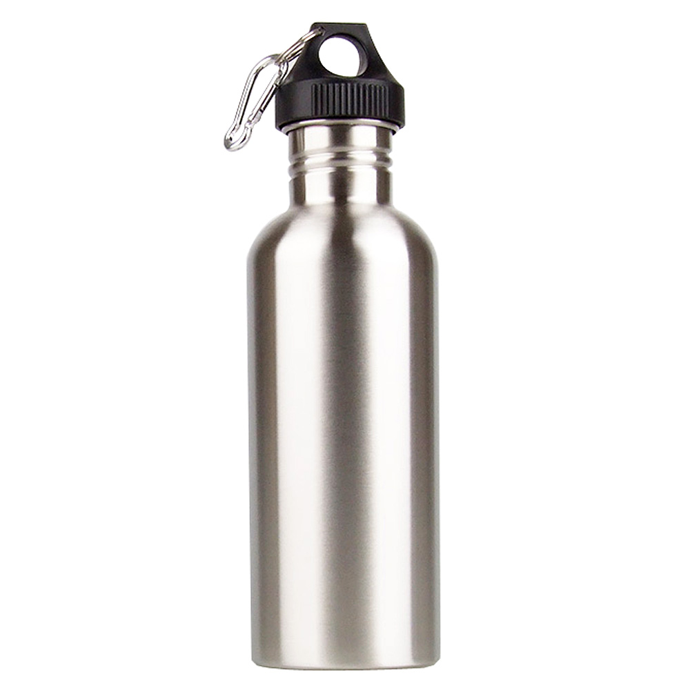 Hot Outdoor Water Bottles Sports 1000ml Stainless Steel Bottle Wide Mouth Drinking Camping Cycling Bicycle Water Bottle