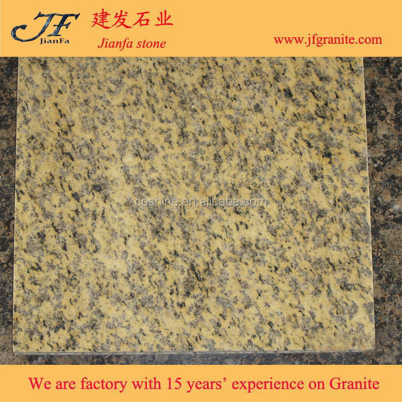 Chinese Different Style Yellow Tiger Skin Granite Tiles