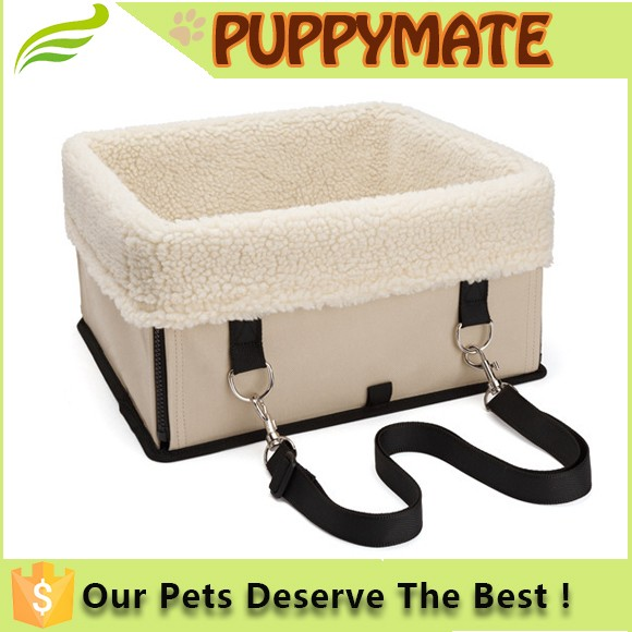 Waterphoof pet dog booster car seat best sale dog carrier