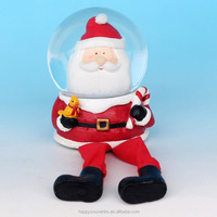 Fashion Santa Claus Shoes Shape Christmas Snow Globes