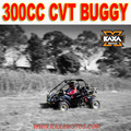 Two Seats 300cc Road Legal Go Kart