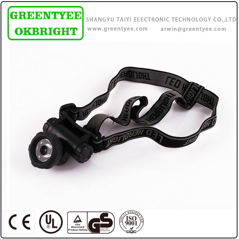 battery operated new style high power creee led headlight head lamp