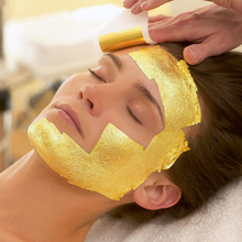 24K Real Gold Leaf Gold Foil Face Mask for Spa Use 99.9% Pure Gold Leaf