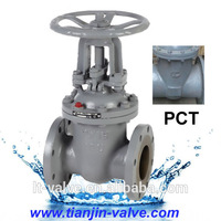 russian standard electric actuated stainless steel single disc flat plate gate valve