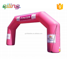 Cheap customized sports inflatable finish line / starting line arch for Racing